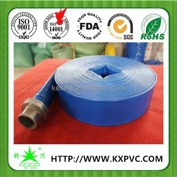 Hot selling UV resistant anti aging flexible hose pipe farm irrigation system