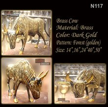 Bull Hand Made (Brass)
