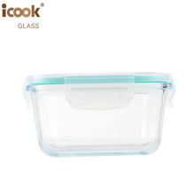 Glass Kitchenware Storage Container Fancy Food Preservation Lunch Box