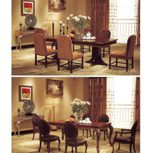 Indian Solid Wood dining wholesale commercial banquet chairs hotel furniture