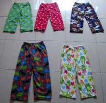 20,000 Pcs = BABY TODDLER + GIRL'S (0 - 14 YEARS) FLEECE PJ PANTS