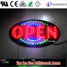 5W energy saving led neon open sign for all businness /factory direct sales led signs