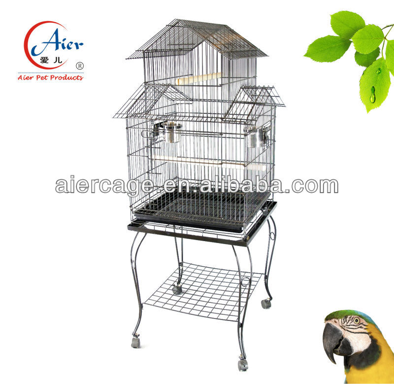 Manufacturer metal big bird parrot cage house pet products