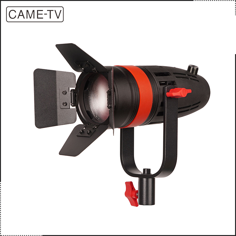 1pc CAME-TV Boltzen 55W Film Shooting Portable Studio Camera Fresnel Video Led Lights