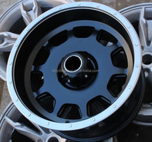 17 inch* 9.0 black and white rivets alloy wheel / rims for any kind of cars