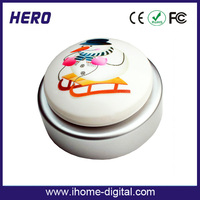 OEM logo support electronic voice changer toy easy button box Shenzhen