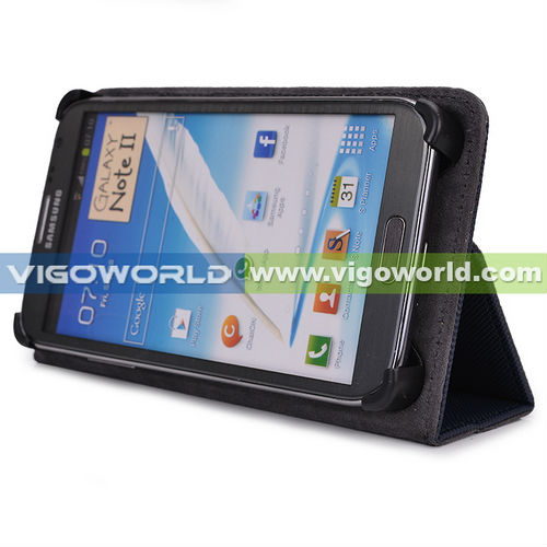 Universal Mobile Phone Book Folio Cover for BLU Studio 5.5 with stand