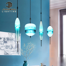 New Simple Modern Size Combination Glass Pendant Light Frosted Fixture Lamp Glass Pendants For Chandelier Led Fixture