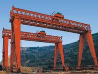 Double main girder gantry crane with hook for project 50/12.5t 9m