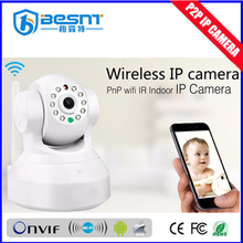 remote controlled rechargeable ptz robot best indoor portable wireless 1080p wifi ip camera (BS-IP04)