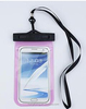 Clear PVC mobile case waterproof 5.5 inch cover