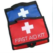 Medical professional First Aid car emergency kit