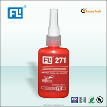 6ml/10m/50ml/250ml High strength, Excellent Chemical Resistance, Anaerobic Threadlocker sealant 271
