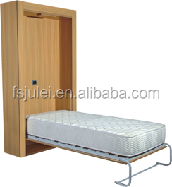 Healthy Green Save Space Wall bed Mounted bed mechanism