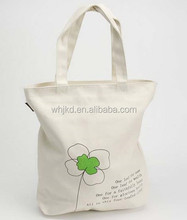 Recyclable Natural Canvas Cotton Tote Bag