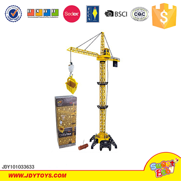 4 channel simulation remote control truck rc model crane for sale