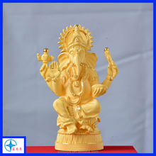Fengshui decoration products Ganesh statue Ornament gift,Golden Ganesh for home decor