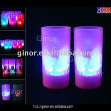 electronic led candle with plastic cup