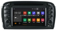 4.4 android car dvd player for MERCEDES SL R230 android 1024*600 quad core RK3188 16G WS-8817