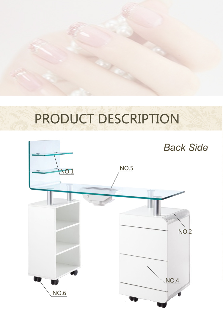 Manicure Desk Dimensions | Splendid Wedding Company