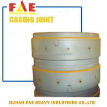 FAE best quality/price alloy steel piles with rotary drilling rig forged casing joint