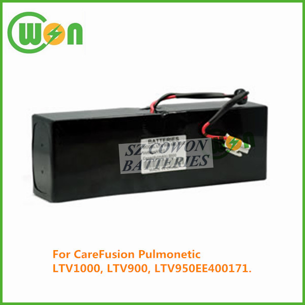 12V 5000mAh Sealed Lead Battery for CareFusion Pulmonetic, LTV1000, LTV900, LTV950, EE400171 replacement Battery