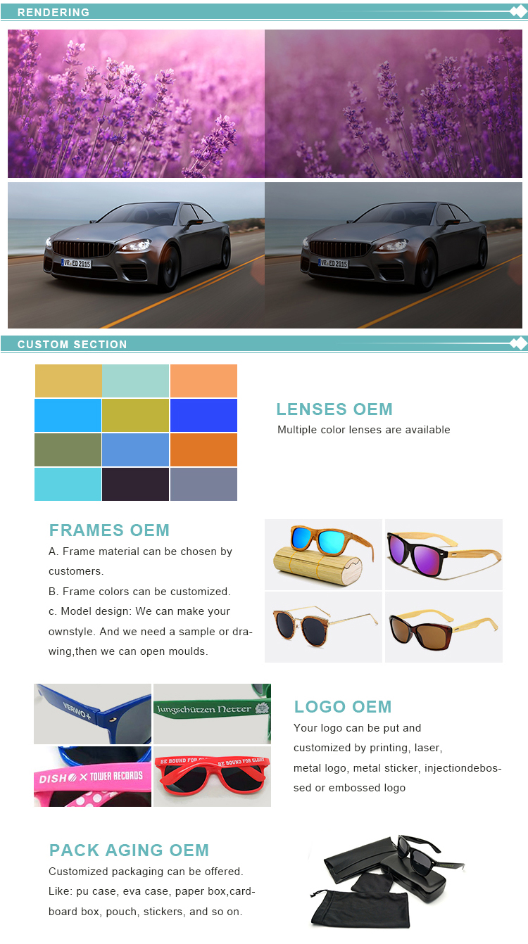 Wholesale Fashionable Popular PC Frame Polarized Clip On Sunglasses For Driving