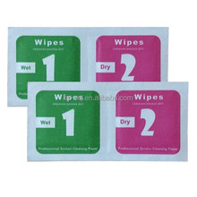 OEM 1 Piece Small Pack Dry and Wet Wipes