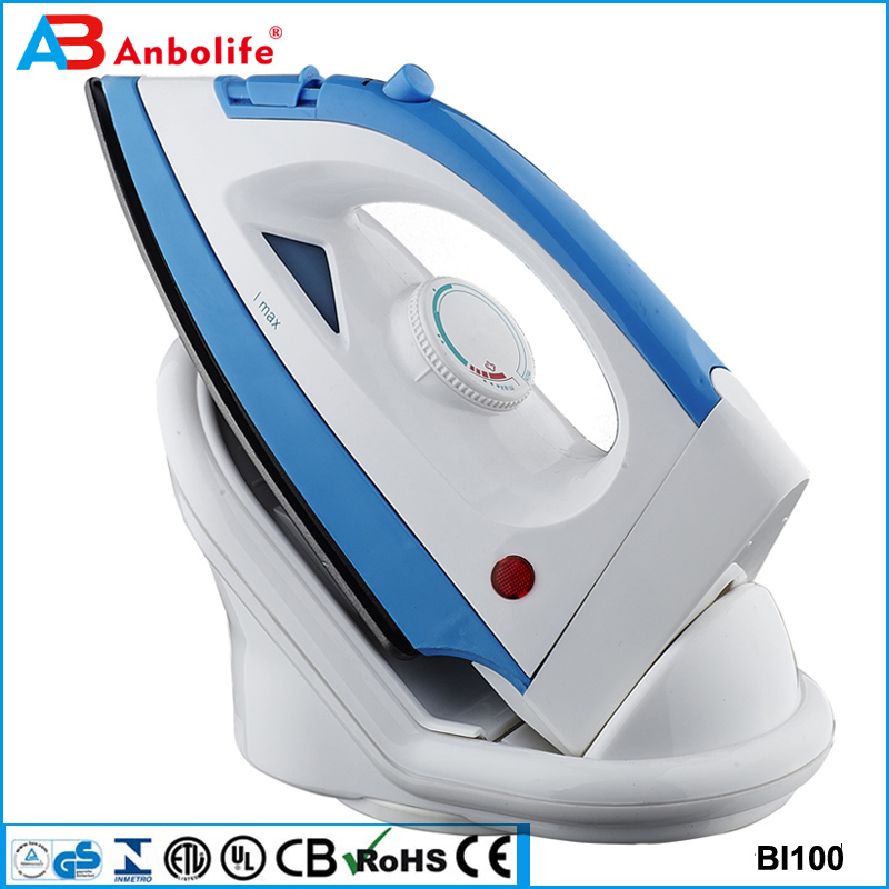 Anbolife professional handy home manufactory new design big size steam iron full function steam iron solar dry iron