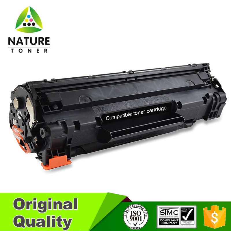 CB436A black printer toner cartridge for HP