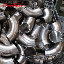"Galvanized Long and Short Radius 2 1/2"" DN65 Butt Welding Stainless Steel 90 Degree Elbows"