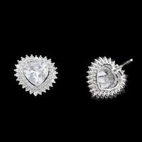 Queen Mary's 3 karat diamond heart earring designs