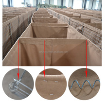 High quality military sand hesco bastion wall / gabion hesco blast (FACTORY MANUFACTURER)