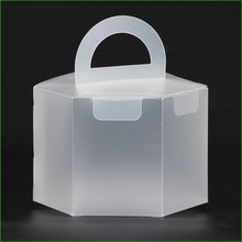 Clear Packaging Cake Plastic Box For Candy