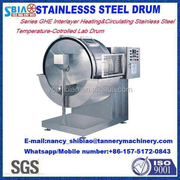 wet blue hides machine Labortary drum D1400 by 500 Inox Experiment dyeing drum/processing drum/leather machine made in China