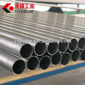 Seamless titanium tube for heat exchanger and condenser ASTM B338/ASTM B861,PED & Norsork M650 approved