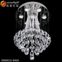 crystal pendant for chandelier marine pendant light deer antler chandelier OM88532-400