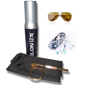 Rimless Eyeglass Nut Driver Kit : Glasses Repair Kit Screw Driver + Lens Cleaning Cloth ...
