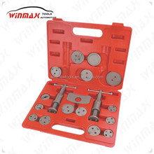 WINMAX 21pc Universal Piston Brake Caliper Wind Back Tool Service Car Handy Kit WT04018