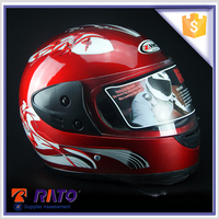 Motorcycle parts/red custom motorcycle helmet for sale