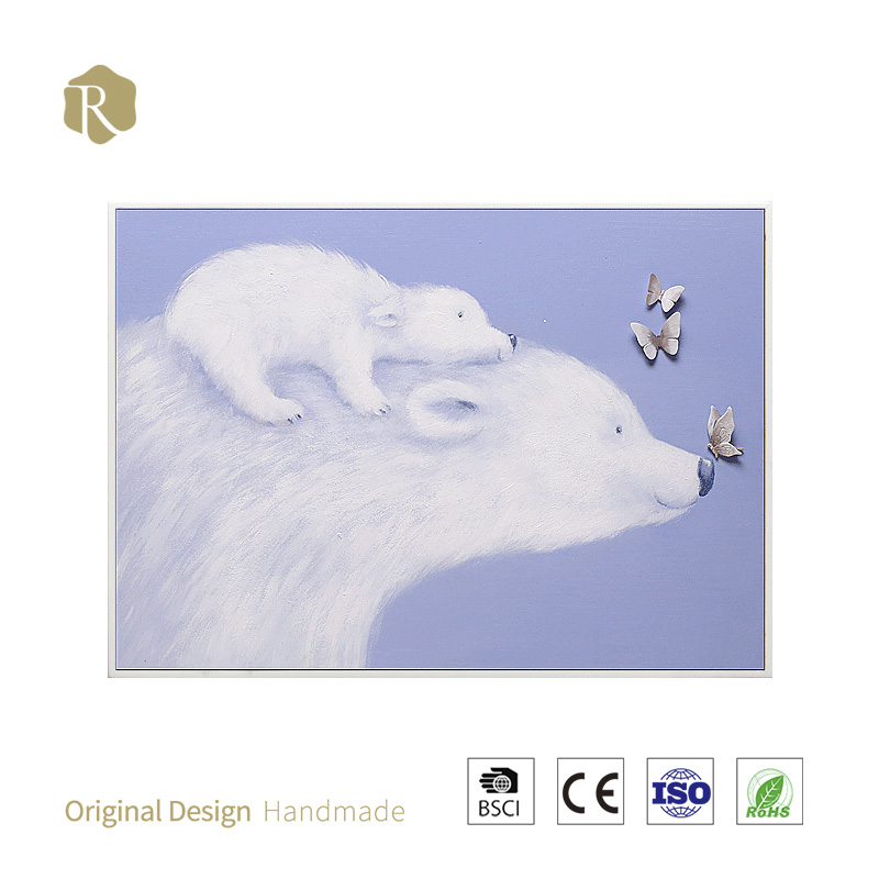 3D decorative Products Delicate Painting Home animal painting