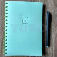 YB-2951 Plastic Spiral Notebook a5 leather diary with ring binder