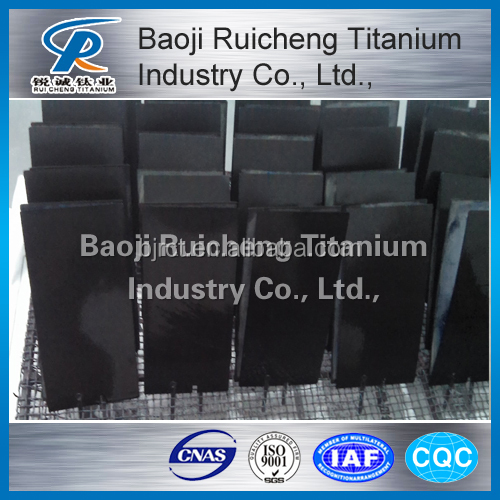 Supply high quality Titanium Anode for chlor alkali plant