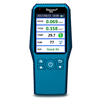 Compact and handy Handheld HCHO Smart Air Quality Detector