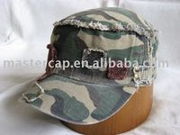 Stud Fashion Military Army Cadet Caps with 3D Embroidery