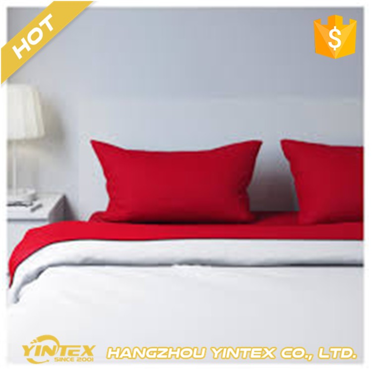 Comfortable Adult King Size100% Cotton Hotel bed sheet/duvet cover/pillow case