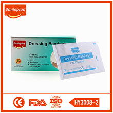 Eo Sterilization Medical Big Size Wound Dressing Plaster Products For Adult