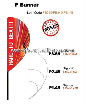 Original Advertising Ino Flags And Banners With Pole