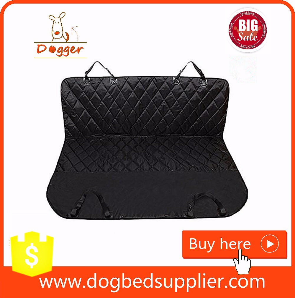Quilted Waterproof Cooling Car Seat Mat for Dogs