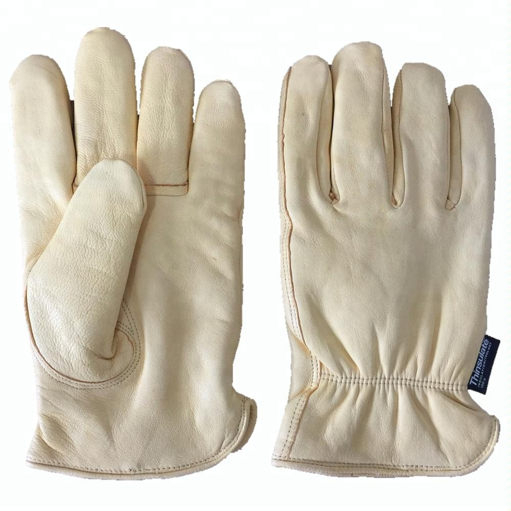 NEWSAIL Deerskin truck driver working gloves